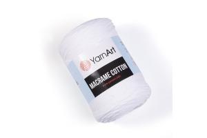 Macrame Cotton 751 - biela