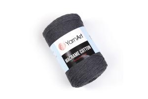 Macrame Cotton 758 - tmavošedá
