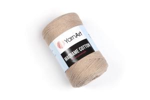 Macrame Cotton 768 - režná tmavá