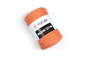 Macrame Cotton 770 - oranžová