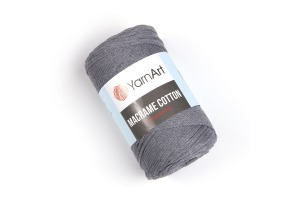 Macrame Cotton 774 - šedá