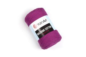 Macrame Cotton 777 - fuchsia tmavá