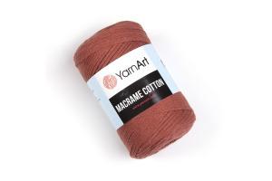 Macrame Cotton 785 - matnočervená
