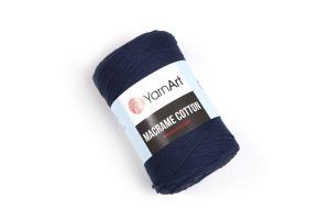 Macrame Cotton 784 - tmavomodrá