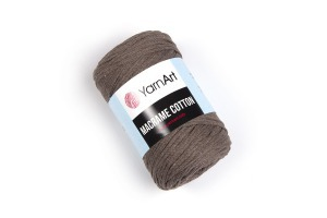 Macrame Cotton 791 - hnedá svetlá