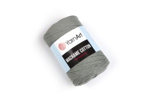 Macrame Cotton 794 - sivozelená