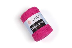 Macrame Cotton 803 - cyklámenová jasná