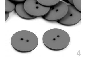 Gombík plastový - Hladký - Ø23 mm