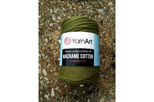 Macrame Cotton 787 - vojensky zelená