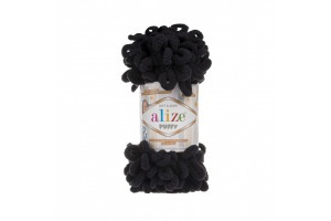 Puffy 60 - čierna