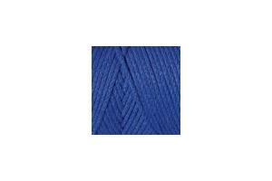 Macrame Cotton 786 - modrá parížska
