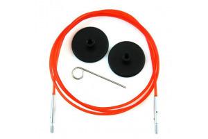 Knitpro - Vymeniteľné lanko na ihlice - farebné