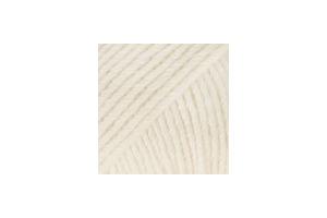 Cotton Merino 01 - smotanová