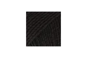 Cotton Merino 02 - čierna