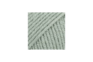Cotton Merino 29 - šedozelená