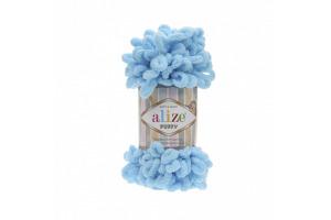 Puffy 287 - nebesky modrá