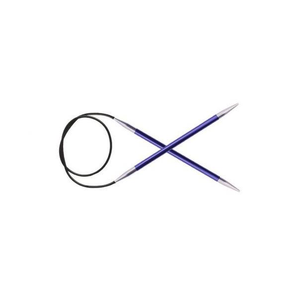 KnitPro Zing Fixné kruhové ihlice 80cm