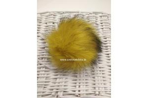 Brmbolec 1013 - žltozelená s čiernymi koncami