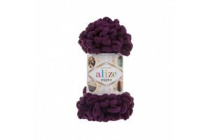 Puffy 111 - tmavá fialová