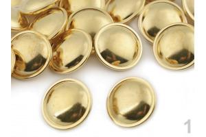 Gombík kovový - Zlatý Ø20mm