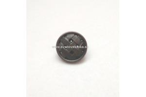 Gombík plastový - kovový vzhľad Ø15mm