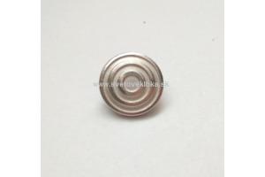 Gombík kovový - kruhy Ø15mm