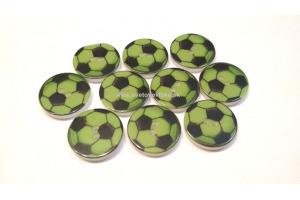 Gombík plastový - Futbalová lopta Ø15mm