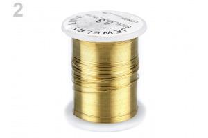Dekoračný drôtik Ø0,3 mm
