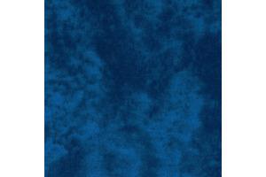 Látka bavlnená - batik tmavomodrý