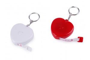 Meter zvinovací srdce dĺžka 150 cm