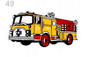Nažehlovačka - hasičské auto 3