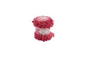 Puffy ombre batik 7418 - ružová