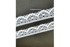 Čipka-krajka bavlnená šírka 35 mm