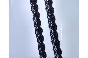 Čipka/krajka bavlnená šírka 20 mm
