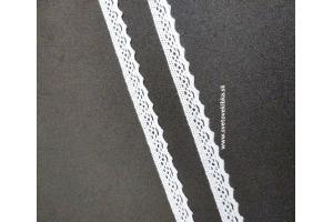 Čipka-krajka bavlnená šírka 10 mm