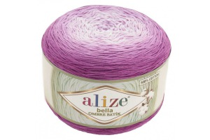Bella ombré batik 7429 - fialovo-ružové odtiene