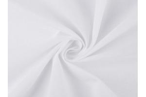 Látka bavlnená - jednofarebná Biela