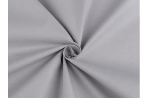 Látka bavlnená - jednofarebná Šedá
